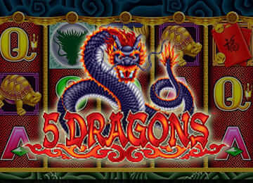 5 Dragons Pokie Machine Review